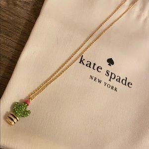 Cactus Kate Spade Necklace